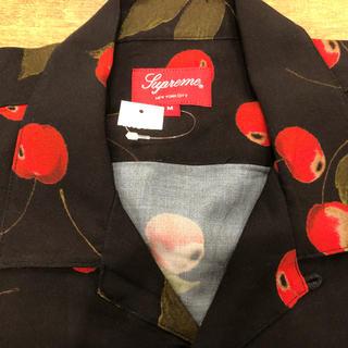 シュプリーム(Supreme)のsupreme 19ss Cherry Rayon S/S Shirt (シャツ)