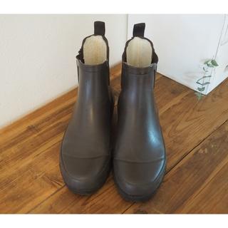 マーガレットハウエル(MARGARET HOWELL)の最終値下げ⚠️MHL. レインブーツ ブラウン 長靴(レインブーツ/長靴)