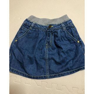 ブリーズ(BREEZE)のブリーズ薄手デニムスカート サイズ100(スカート)