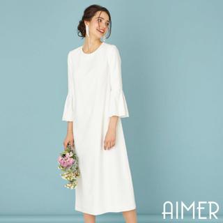 f75f1ce717bac エメ(AIMER)のAIMER ウェディング ドレス 二次会 プレ花嫁さんに◇(ウェディング