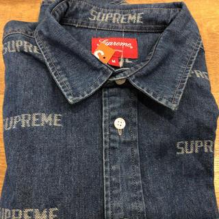 シュプリーム(Supreme)のsupreme 19ss Logo Denim Shirt(シャツ)