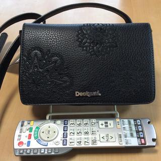 デシグアル(DESIGUAL)のデジグアル  Desigual ショルダーバッグ 黒  新品未使用(ショルダーバッグ)