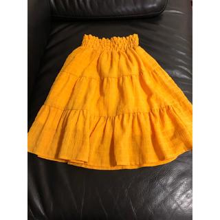 ブリーズ(BREEZE)のBREEZE 2wayティアードスカート 100 (ワンピースにもなります)(スカート)