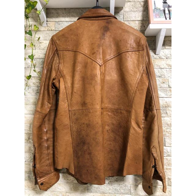 BUFFALO BOBS(バッファローボブス)のバッファローボブズ 匠レザー メンズのジャケット/アウター(レザージャケット)の商品写真