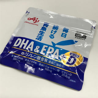 味の素 - 味の素 DHA&EPA+D 120粒入り