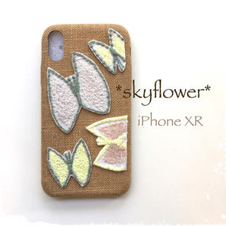 mina perhonen - skyflower*iPhoneXR*