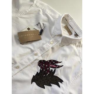 バーバリー(BURBERRY)の☆超希少・超高級品・美品☆バーバリーロンドン☆ホワイトシャツ☆(シャツ)