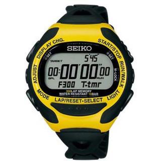 セイコー(SEIKO)のセイコー プロスペックス腕時計 SBDH017 スーパーランナーズEX イエロー(腕時計(デジタル))