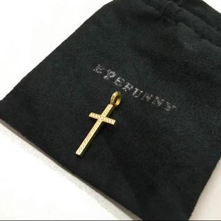 アイファニー(EYEFUNNY)の美品 アイファニー 18K  クロス ネックレス トップ(ネックレス)