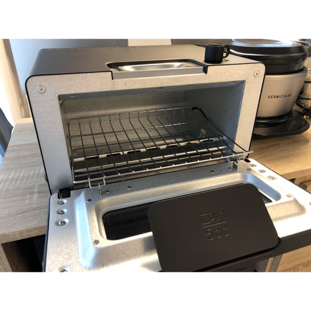 BALMUDA(バルミューダ)のバルミューダ スチームオーブントースター  BALMUDA ブラック  K01E スマホ/家電/カメラの調理家電(調理機器)の商品写真