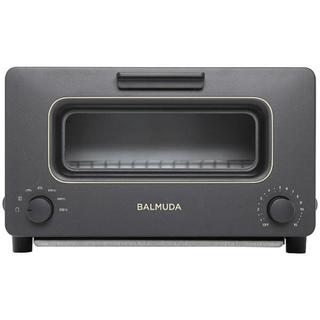 バルミューダ(BALMUDA)のバルミューダ スチームオーブントースター  BALMUDA ブラック  K01E(調理機器)