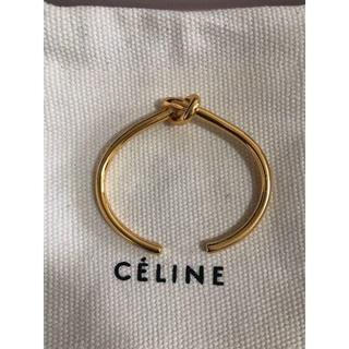 セリーヌ(celine)のceline セリーヌ バングル ノット ブレスレット(ブレスレット/バングル)