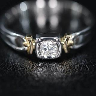 Pt900 ダイヤモンド デザイン リング(リング(指輪))