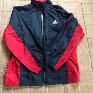 アディダス(adidas)のアディダスナイロンジャケット サイズ140 超美品(ジャケット/上着)