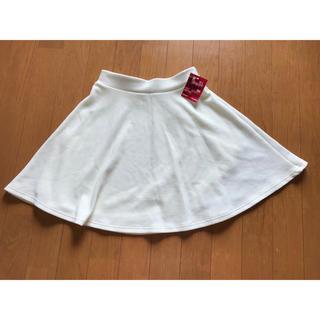 パピヨネ(PAPILLONNER)の【新品未使用品】フレアミニスカート(ミニスカート)
