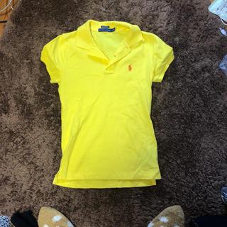 ポロラルフローレン(POLO RALPH LAUREN)のラルフ ポロシャツ イエローxs(ポロシャツ)