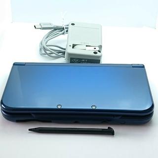 ニンテンドー3DS(ニンテンドー3DS)のもにもに様専用 New 3DS LL メタリックブルー(携帯用ゲーム機本体)