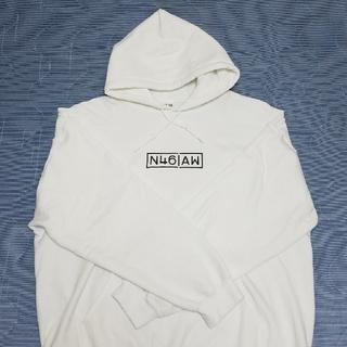 ノギザカフォーティーシックス(乃木坂46)のN46AW フーディ WHITE XL(パーカー)