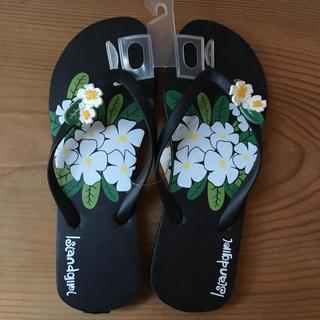 Hawaii ビーチサンダル お花(ビーチサンダル)
