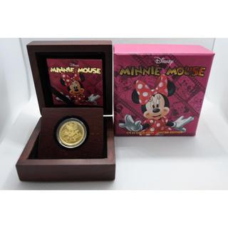 ディズニー(Disney)の2014年 ニウエ Niue ディズニー  ミニーマウス 金貨1/4オンス(貨幣)