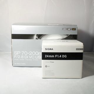 タムロン(TAMRON)のTamron A009N + SIGMA 24mm f1.4 ART(レンズ(ズーム))