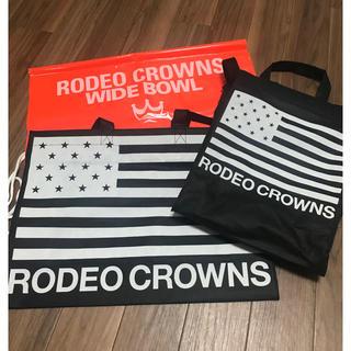 ロデオクラウンズワイドボウル(RODEO CROWNS WIDE BOWL)の☆ショップ袋☆ロデオクラウンズワイドボウル (ショップ袋)