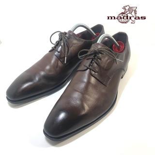 マドラス(madras)の専用【madras】マドラス プレーントゥ ビジネス 革靴 27cm(ドレス/ビジネス)
