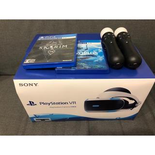 プレイステーションヴィーアール(PlayStation VR)のPSVRセット(家庭用ゲーム機本体)