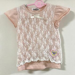 シマムラ(しまむら)のレース 110cm 半袖Tシャツ(Tシャツ/カットソー)