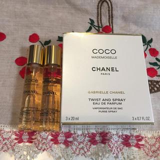 シャネル(CHANEL)のCHANEL ココマドモアゼル オードプァルファム レフィル 2本(香水(女性用))