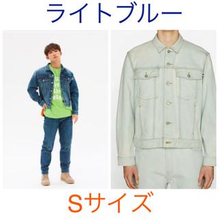 ジーユー(GU)のstudio seven デニムジャケット Gジャン S 即完売! ライトブルー(Gジャン/デニムジャケット)