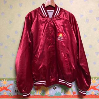 82c7ddb06846 シュプリーム(Supreme)のタコベル スタジャン 赤 US 90s ナイキ ステューシー シュプリーム 系(スタジャン