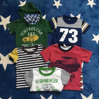 ニシマツヤ(西松屋)のTシャツ5枚セット★90(Tシャツ/カットソー)