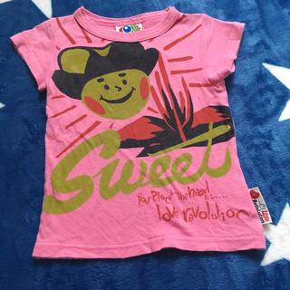 ラブレボリューション(LOVE REVOLUTION)のラブレボ★Tシャツ 90(Tシャツ/カットソー)