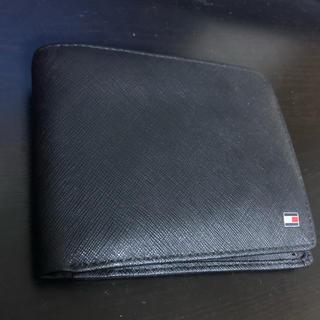 3d951a7076f8 TOMMY HILFIGER - トミーヒルフィガー 二つ折財布 小銭入れ付き レザー ...