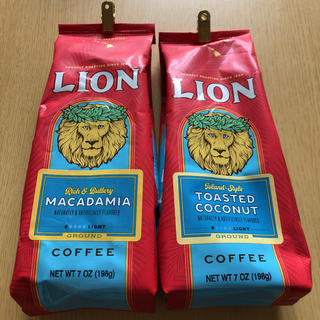 ライオン(LION)の⭐️ライオンコーヒー マカデミア&トーストココナッツ⭐️(コーヒー)