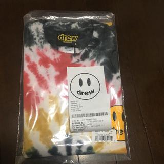 シュプリーム(Supreme)のdrew ジャスティンビーバー tシャツ Lサイズ 最安値(Tシャツ/カットソー(半袖/袖なし))