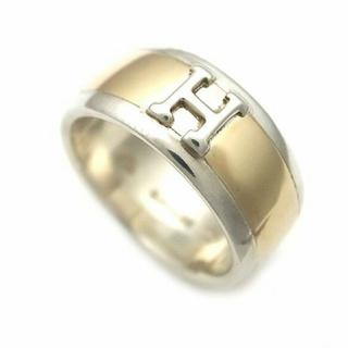エルメス(Hermes)のVINTAGE HERMES シルバー&ゴールドリング ⋆*(リング(指輪))