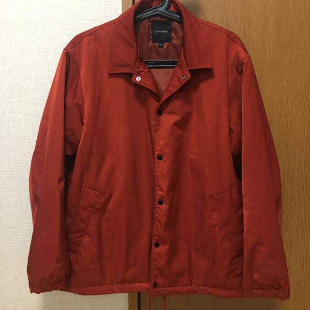 RAGEBLUE(レイジブルー)のコーチジャケット RAGEBLUE  M orange メンズのジャケット/アウター(ブルゾン)の商品写真