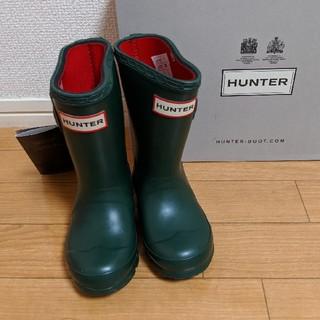 HUNTER - HUNTER キッズレインブーツ UK7