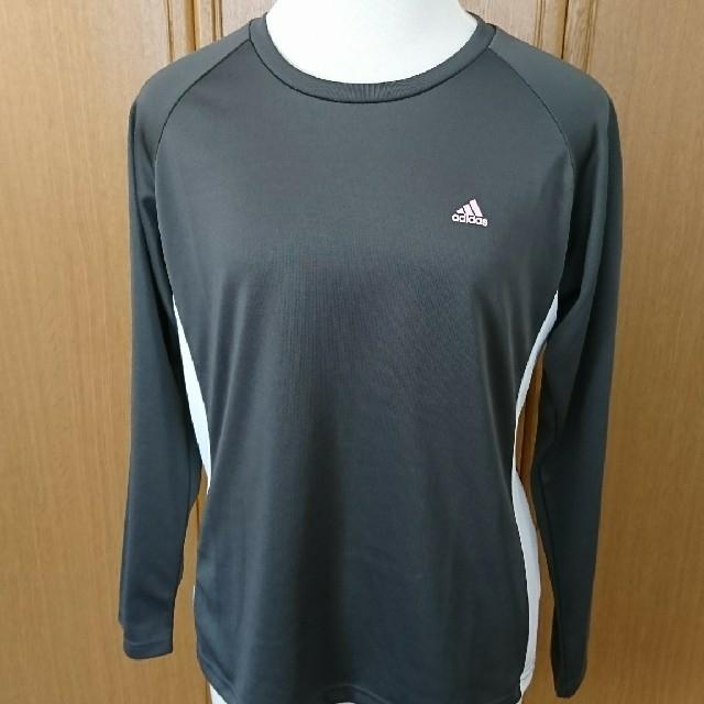 adidas(アディダス)のadidas レディースTシャツ レディースのトップス(Tシャツ(長袖/七分))の商品写真