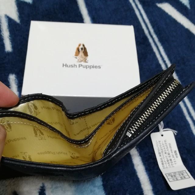 1a578dfe7f3c HushPuppies ハッシュパピー ウィング 二つ折り財布 メンズのファッション小物(折り財布)の