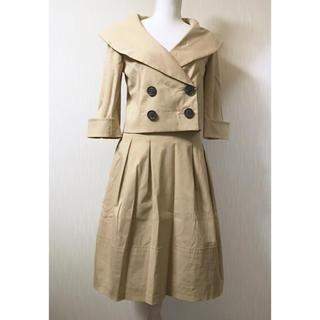 フォクシー(FOXEY)のFOXEY✨女優襟スーツ40(スーツ)