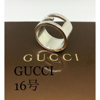 グッチ(Gucci)の[良品]GUCCI 指輪 リング 16号(リング(指輪))