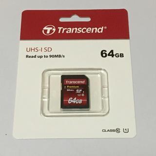 トランセンド(Transcend)のTranscend SDXCカード 64GB(その他)
