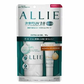 アリィー(ALLIE)の売約済*アリィー エクストラUVジェル 90g SPF50+/PA++++(日焼け止め/サンオイル)
