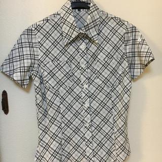 クードシャンス(COUP DE CHANCE)のワールド  クード シャンスの半袖シャツブラウスです。(シャツ/ブラウス(半袖/袖なし))