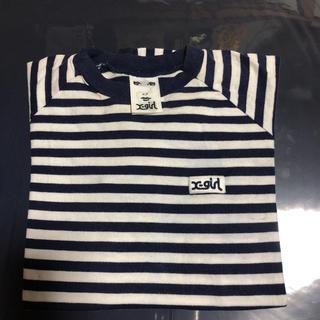 エックスガール(X-girl)のX-girlボーダー Tシャツ(Tシャツ(半袖/袖なし))