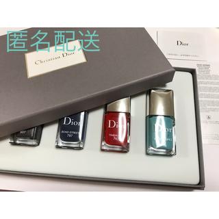 クリスチャンディオール(Christian Dior)のディオール ヴェルニ箱入り4本セット(マニキュア)