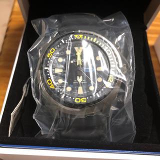 セイコー(SEIKO)のseiko メンズ キネティック ダイバーウォッチ 新品未使用(腕時計(アナログ))